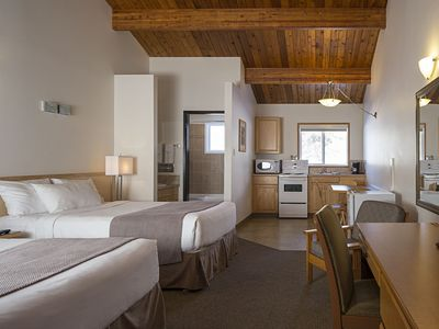 Photo for Rocky Mountain Ski Lodge - Two Double Beds With Kitchen
