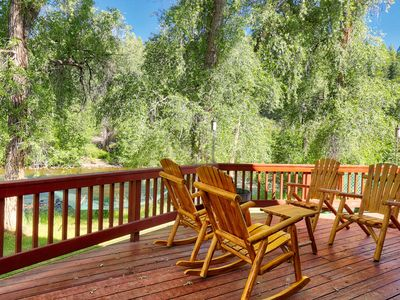 Photo for Gorgeous Home on San Juan River!  April & May Dates Still Available!
