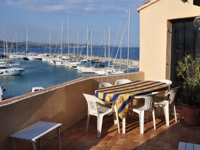 Photo for Located in the heart of the Gulf of Saint-Tropez, at the Marines de Cogolin. With sea view