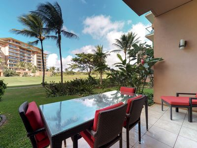 Photo for Ground-floor suite w/ resort hot tubs & pools - oceanfront beach access!