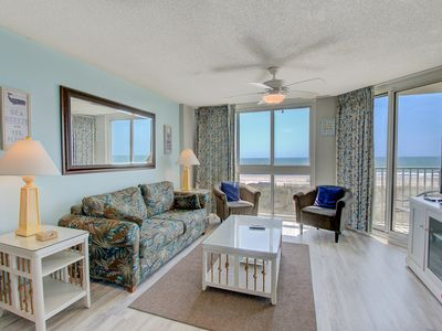 Photo for Beautiful Oceanfront Condo!!! Booking 2019!
