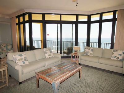 Photo for Phoenix West II 1406- Beach Front View, Large Terrace, Lazy River!