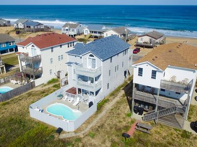 Photo for Guaranteed Fun | 60 ft from the Beach | Private Pool, Hot Tub