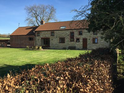 Photo for Stunning Barn in idyllic but convenient location