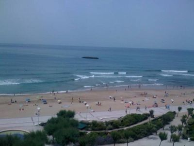 """Photo for First line of sea  with panoramic view -  direct access to the beach """"Grande plage"""" - Biarritz"""