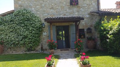 Photo for Heavenly Villa with pool near Todi
