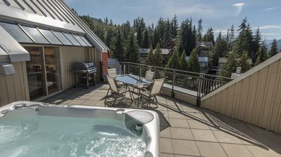 Photo for Whistler Mtn Base in Creekside at Lake Placid Lodge - Walk to Whistler Mtn Base, Condo w/Private Hot Tub (Unit 502)
