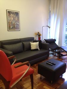 Photo for Apt with 2 suites in Ipanema between station 8 and 9