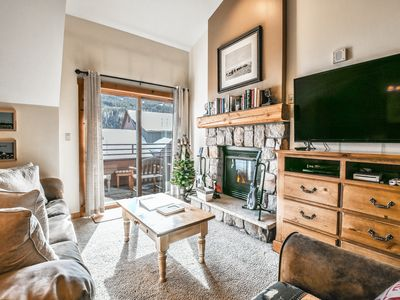 Photo for Top floor condo with great Village & Mountain views! Walk to Gondola, restaurants and Summer Festivals