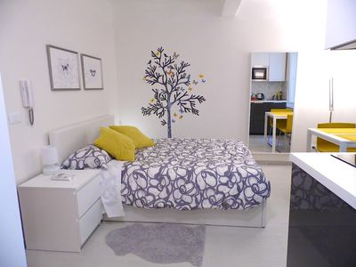 Photo for Paganini Studio: first floor, double bed, kitchen, Wifi