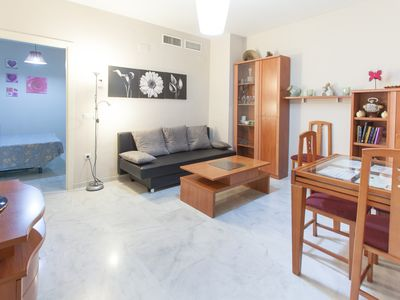 Photo for Wi-Fi apartment with shared terrace in the center of Seville, next to Plaza de San Lorenzo.