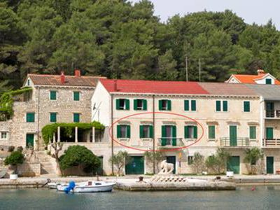 Photo for Povlja, Brac, Croatia, Sea apartment 1