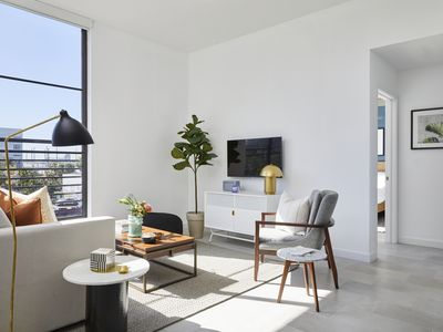 Photo for Domio Wynwood | Striking Two Bedroom Suite | Laundry + Pool + Gym