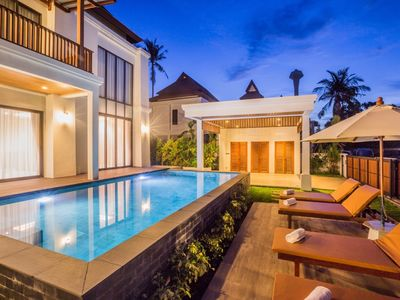 Photo for CHARMING 3 BEDROOM POOL VILLA