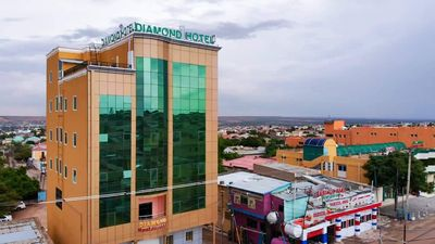 Diamond Hotel Hargeisa hasa full Restaurant open 24/7  All staff speaks  English  - Somalia