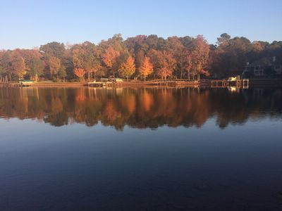 View from the dock during Fall.