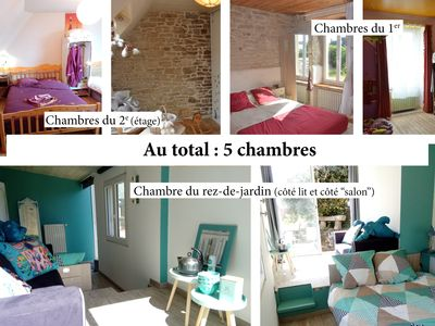 Photo for Bed and breakfast and rooms at the inhabitant