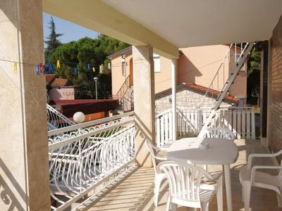 Photo for Two bedroom apartment with terrace Umag