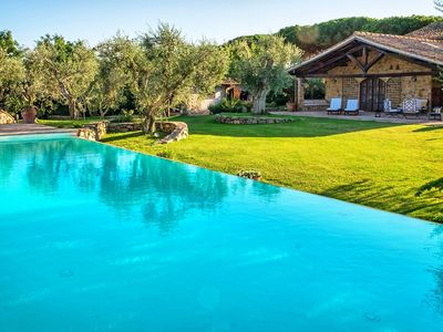 Photo for Wonderful private villa with private pool, A/C, hot tub, WIFI, TV, patio, panoramic view and par...