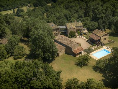 Photo for Group and large family getaways | Luxury Farmhouse | Saint-Antonin-Noble-Val