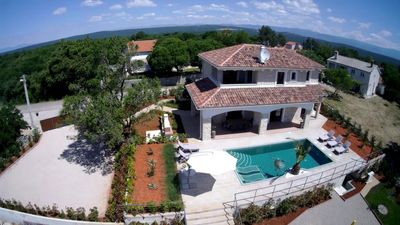 Photo for Villa CECILIA: 5* stone house, heated indoor pool, large outdoor pool, fitness