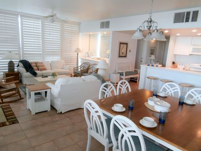 Photo for Large corner 3br with great views and coastal decor.