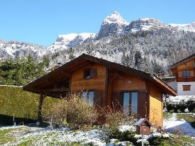 Photo for A HAVEN OF PEACE FACING MONT BLANC