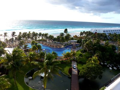 Photo for Oceanfront Suite In Cancun's Largest All Inclusive Resort