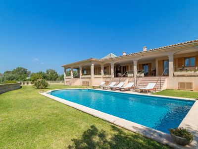 Photo for NEW Finca for 10 with pool and incredible views, Palma Sa Cabaneta, Mallorca