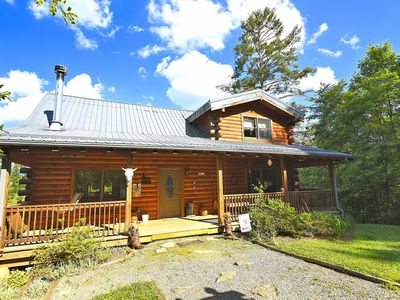 Photo for 3BR Cabin Vacation Rental in Clyde, North Carolina