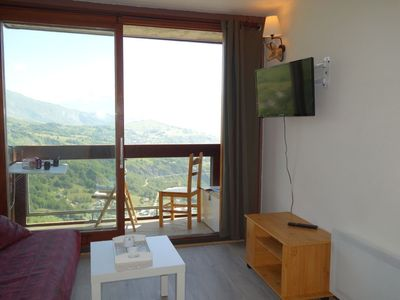Photo for Apartment in the center of Villarembert with Lift, Internet, Pool, Balcony (347631)