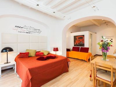 Photo for Ponte S'Angelo Apartment Open Space Free wifi - AC - Ground Floor