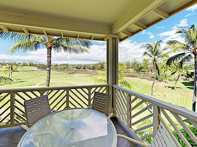 Balcony - Welcome to Waikoloa Beach Resort! This condo is professionally managed by TurnKey Vacation Rentals.