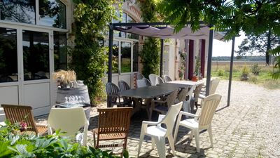 Photo for COTTAGE, 20 PEOPLE, 8 ROOMS, 15 BEDS, IN THE HEART OF THE LOIRE VALLEY CASTLES
