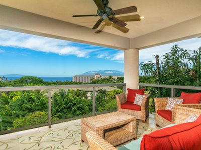 Photo for New Listing! Premier Ocean Views & Beautifully decorated! Ho'olei 21-3