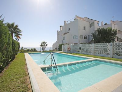 Photo for Lovely apartment on the beach, near the center of Estepona, Free wifi