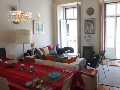 Photo for Santos o Velho, very spacious, confortable and central historic apartment