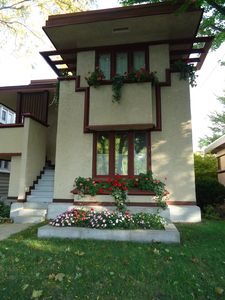 Stupendous Historic House Frank Lloyd Wright Designed House In Milwaukee Wi Burnham Park Beutiful Home Inspiration Cosmmahrainfo