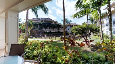 Photo for Beautiful Luxury Villa With Private Lanai. Steps From Poipu Beach