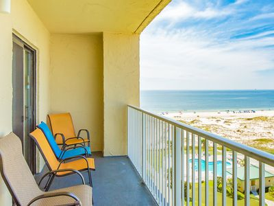 Photo for 2BR, 2BA Gulf Shores Plantation Condo with Dazzling View and Several  Pools