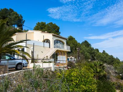 Photo for Detached villa with private pool in Benissa-Costa, at 2 km from the beach