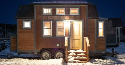 "Photo for ""Try on"" Tiny Home Living at Tiny Timbers Resort."