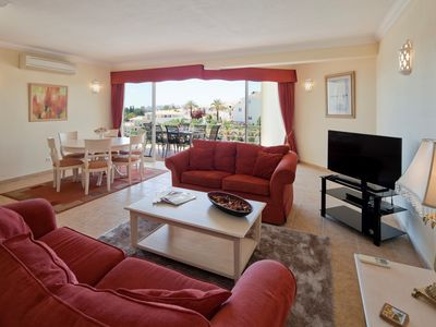 Photo for Comfortable spacious duplex apartment, with pool view - Parque nº 5