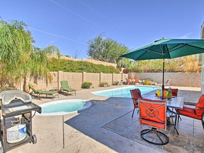 Photo for Desert Hot Springs Home w/ Private Pool & Hot Tub!