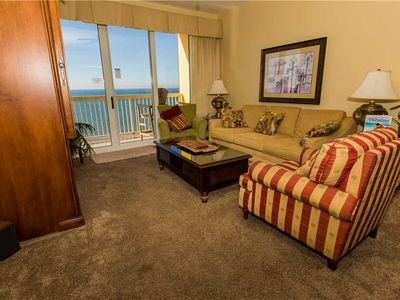 Photo for Nicely Updated Ocean View Unit With Cozy Furnishings Features Two Bedroom And Two Bathroom