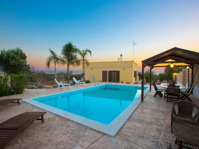 Photo for 3 bedroom Villa, sleeps 6 with Pool, Air Con and Walk to Beach & Shops