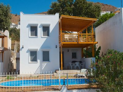 Photo for Bodrum Turgutreis Rental Villa With Private Pool. The home has 3 bedrooms, sleeps up to 6 persons