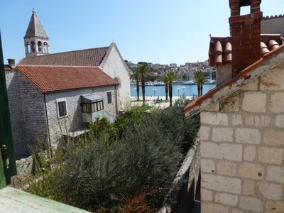Photo for Historic center - Fantastic studio apartment with sea views in old stone house