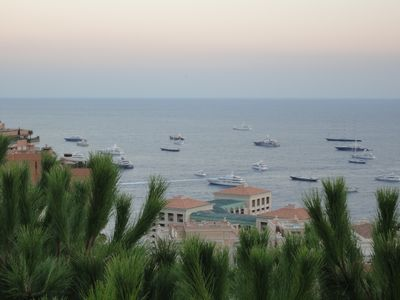 Photo for Monaco from Monte Carlo Superieur, splendid seaview a perfect and fine location