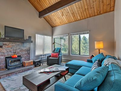 Photo for NEW! Tahoe Donner Ski Base Condo w/Amenity Access!